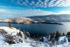 Озеро Kalamalka Стоковое фото RF