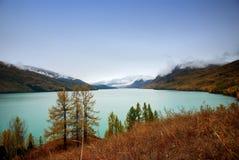 озеро kanas Стоковое Изображение