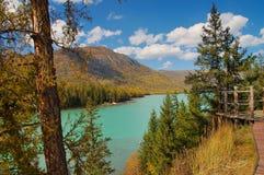 озеро kanasi Стоковое фото RF