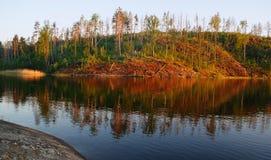 озеро karelia ladoga Стоковая Фотография