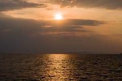 Озеро Kariba в Зимбабве Южной Африке стоковое изображение rf