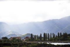 Озеро Kawakuchiko Стоковые Фотографии RF