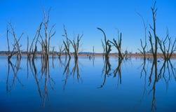 Озеро Keepit стоковое фото rf