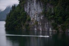Озеро Koenigssee, Бавария, Германия Стоковые Фото
