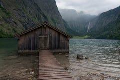 Озеро Koenigssee, Бавария, Германия Стоковые Изображения RF