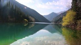 Озеро Kolsay видеоматериал