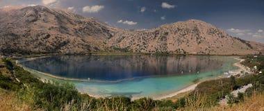 озеро kourna Стоковые Фото