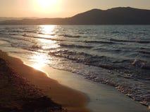 озеро kournas Крита Стоковое Фото
