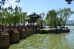 Озеро Kunming увиденное от летнего дворца Китая Стоковое Изображение