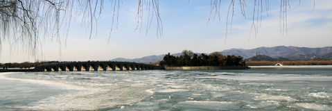 озеро kunming Стоковые Изображения
