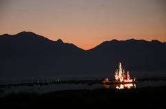 Озеро Kwan Phayao пресноводное  Стоковые Фотографии RF