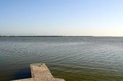 """Озеро l """"albufera стоковые фотографии rf"""