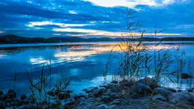 озеро ladoga Стоковое Фото