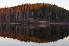 озеро ladoga Стоковое Изображение RF