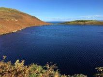Озеро Langaig, Flodigarry, остров Skye Стоковые Фотографии RF