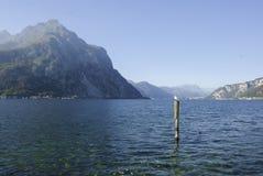 Озеро Lecco Стоковое фото RF