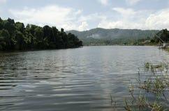 Озеро Lengkong Стоковая Фотография