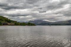 Озеро Loch Lomond, Шотландия стоковое фото