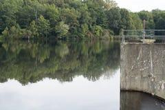 Озеро Logan, Logan, Огайо стоковая фотография