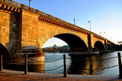 озеро london havasu города моста Стоковые Изображения RF