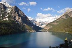 озеро louise Канады Стоковая Фотография