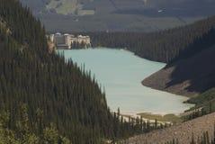 озеро louise похода Стоковые Фотографии RF