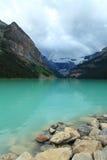 озеро louise Стоковая Фотография