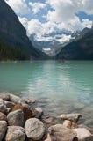 озеро louise alberta Канады Стоковое Изображение RF