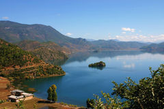 Озеро Lu Gu Hu Стоковое Фото