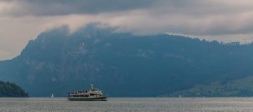 Озеро Lucerna i Стоковая Фотография RF