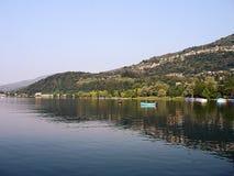 озеро lugano Швейцария Стоковое Фото
