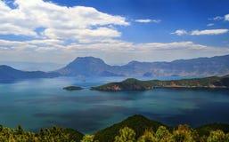 Озеро Lugu, королевство женщин Стоковое Фото