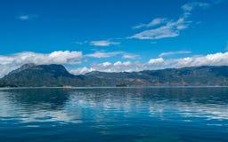 Озеро Lugu Стоковые Фото