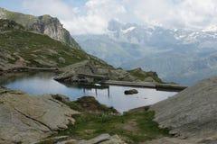 Озеро Lunghin Стоковое Изображение RF
