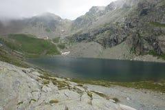 Озеро Lunghin Стоковые Изображения RF
