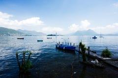 Озеро Maggiore, итальянское озеро стоковая фотография rf