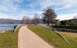 Озеро Maggiore от Germignaga Стоковые Изображения RF