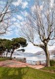 Озеро Maggiore от Germignaga Стоковое Изображение