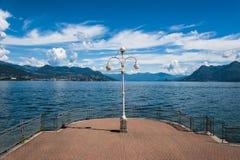 Озеро Maggiore Стоковое Изображение RF
