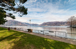 Озеро Maggiore Стоковое Изображение