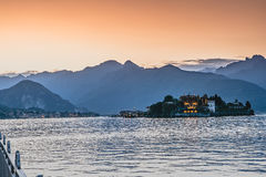 Озеро Maggiore Стоковая Фотография RF