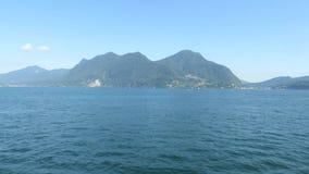 Озеро Maggiore сток-видео