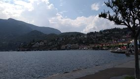 Озеро Maggiore Стоковые Фотографии RF
