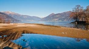 Озеро Maggiore, Germignaga Стоковое Фото