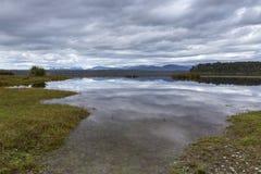 Озеро Mahinapua Стоковые Изображения RF
