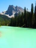 Озеро Maligne Стоковые Изображения RF