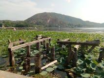 Озеро Mansbal стоковое фото rf