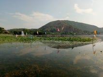 Озеро Mansbal стоковое изображение