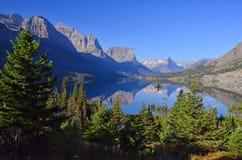 Озеро Mary святой Стоковое Изображение RF