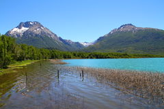Озеро Mascardi - Патагония - Аргентина Стоковая Фотография